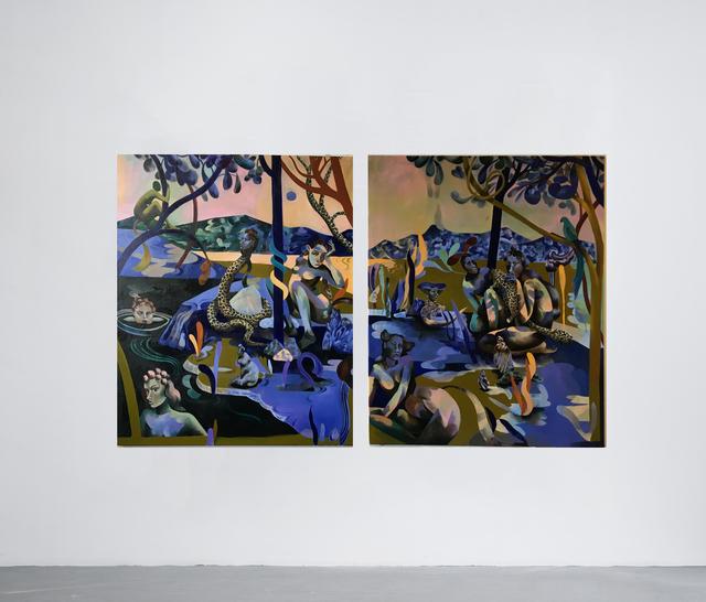 Jessie Makinson, 'Way Up Blue', 2018, Galería OMR