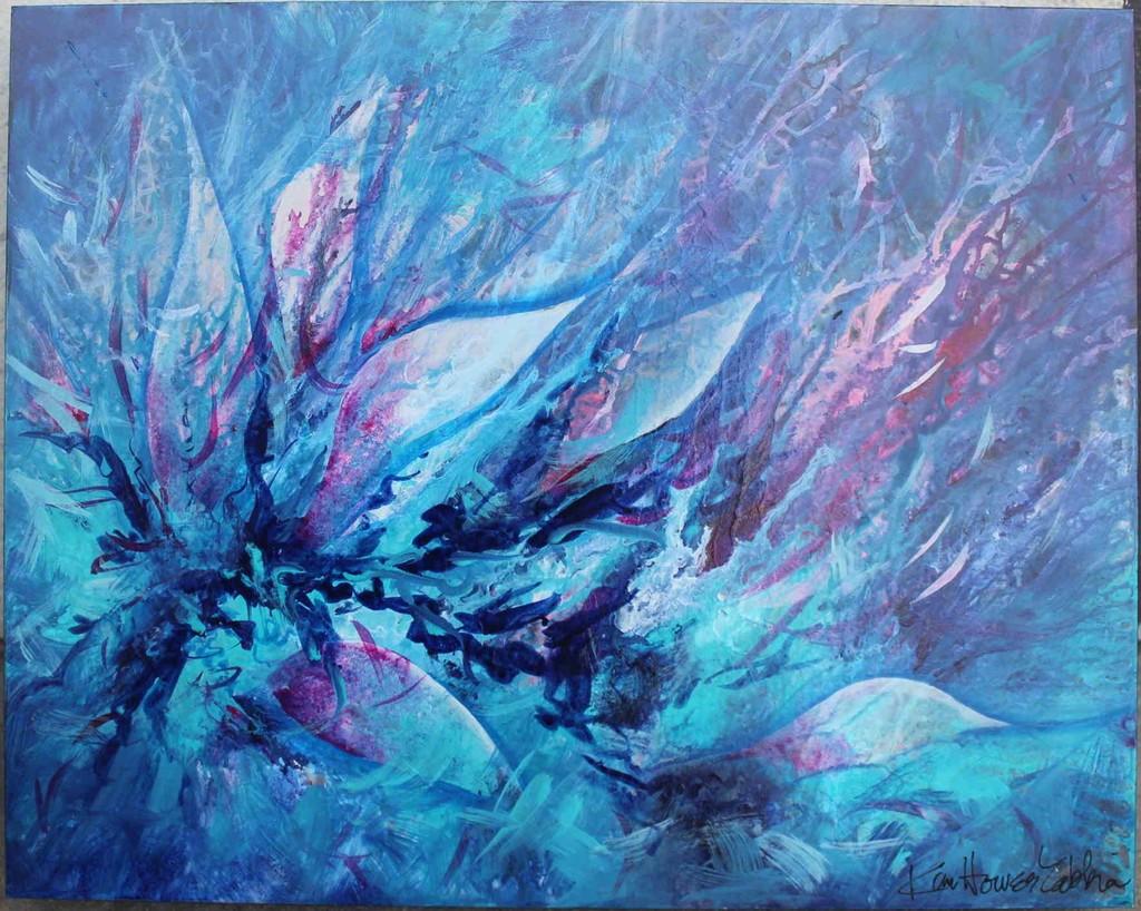 'Crystallize' by Kim Zabbia