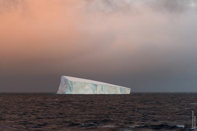 Leonard Sussman, '4:28 a.m, 10/31/18, Tabular Iceberg, Entering the Antarctic Sound, Antarctic Peninsula', 2018, Garvey | Simon