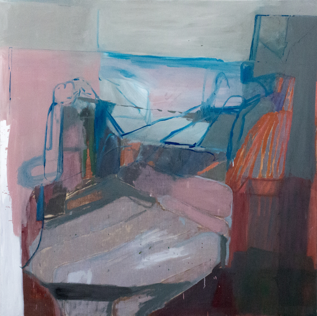 , 'Figure and Bed,' 2018, Nicholas Thompson Gallery