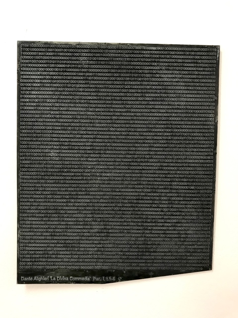 , ' Divine Comedy in binary record ,' 1999, Pola Magnetyczne