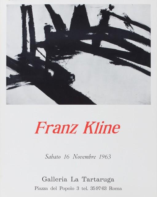 Franz Kline, 'Franz Kline', 1963, Finarte