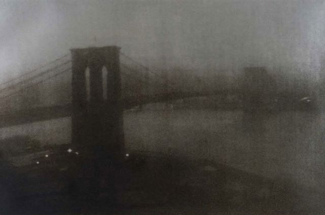 ", 'Brooklyn Bridge, Hokusai Series (Inspired by ""Thirty-Six View of Mount Fuji"").,' 2007, Peter Fetterman Gallery"