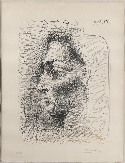 Pablo Picasso, 'Portrait de Jacqueline', 1956, Print, Color offset lithograph on paper, Skinner