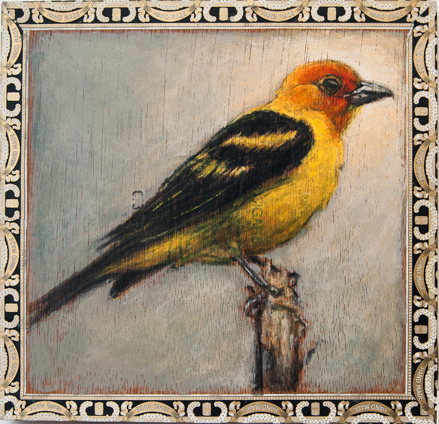 , 'Western Tanager / Hand Made,' 2014, Paul Thiebaud Gallery