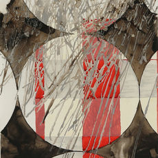 , 'Katagami Series: A,' ca. 2014, Chase Young Gallery