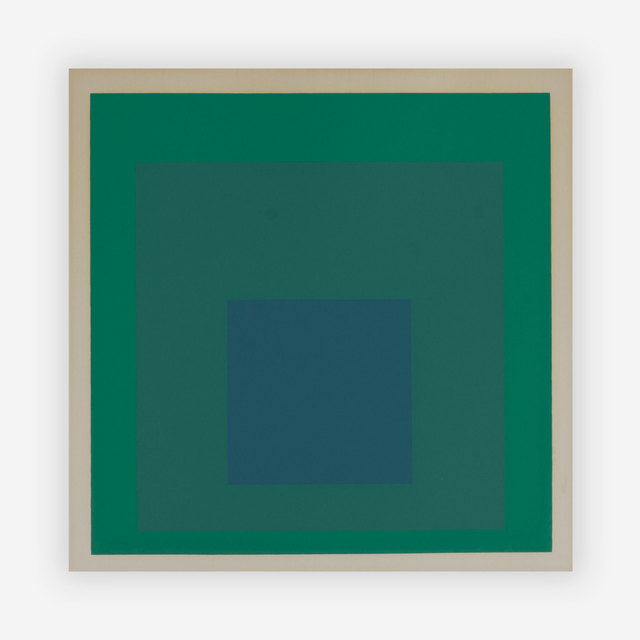 Josef Albers, 'Homage to the Square', Capsule Gallery Auction