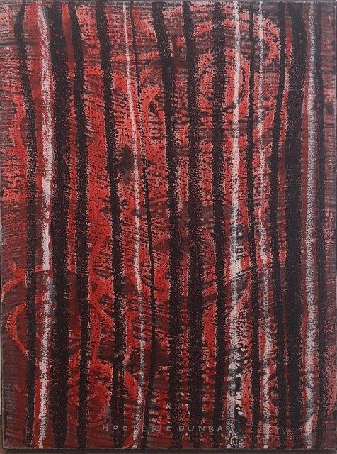 , 'Red Unfoldment,' 2010, Vernissage