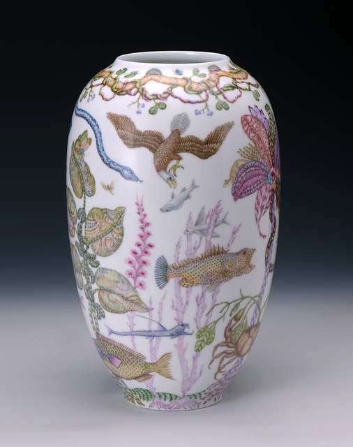 , 'Mark Catesby Marine Vase,' 2015, Ferrin Contemporary