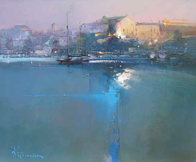 Peter Wileman, 'Leaving Mahon, Dusk', Painting, Oil on canvas, Thompson's Galleries