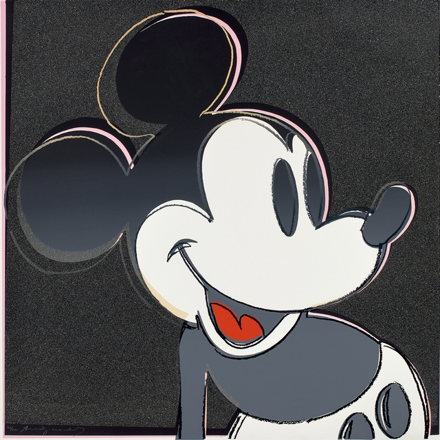 Andy Warhol, 'Mickey Mouse, from Myths', 1981, Phillips