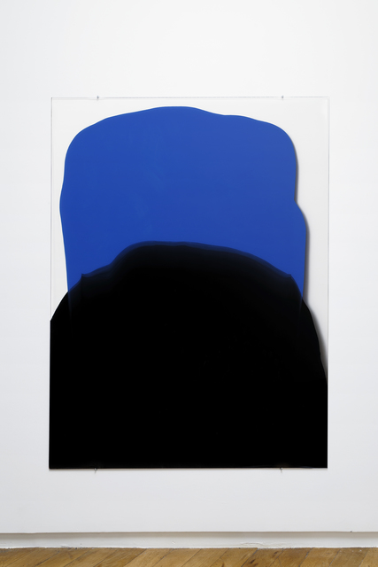 , 'En Masse (blue and black heaped),' 2017, Galerie Allen