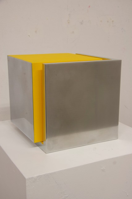 , 'Captured Cube Yellow,' 2017, William Campbell Contemporary Art, Inc.