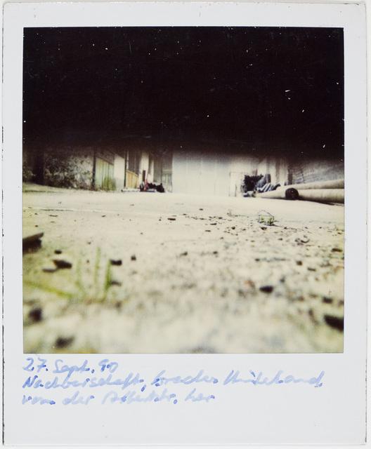 , 'Untitled, September 27,' 1990, Art Institute of Chicago