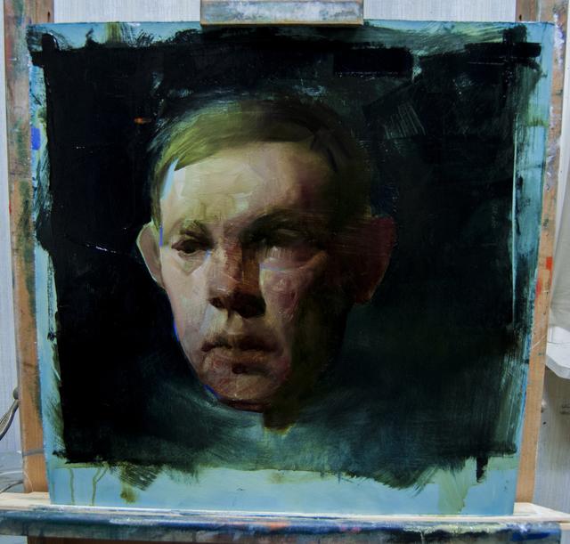 , 'Head Study II,' 2016, Abend Gallery