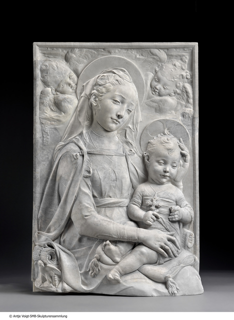 , 'Madonna mit Kind (Madonna and Child),' ca. 1450, Bode Museum