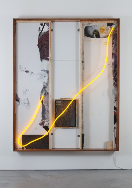 , 'The transparency of glass and the glue of neon (working title),' 2016, Galerie Nathalie Obadia