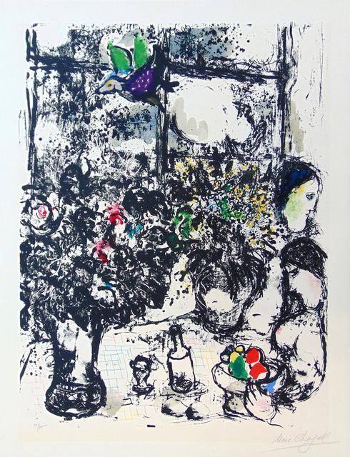 , ' Still Life with Bouquet | Nature Morte au Bouquet,' 1960, Gilden's Art Gallery