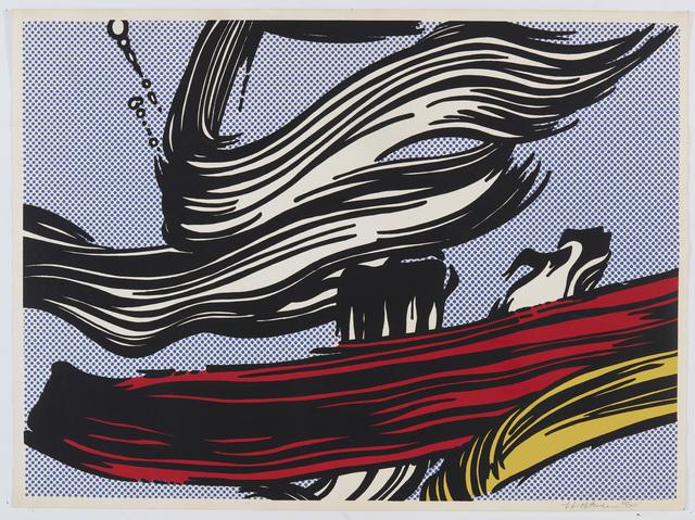 Roy Lichtenstein, 'Brushstrokes', 1967, Fine Art Mia