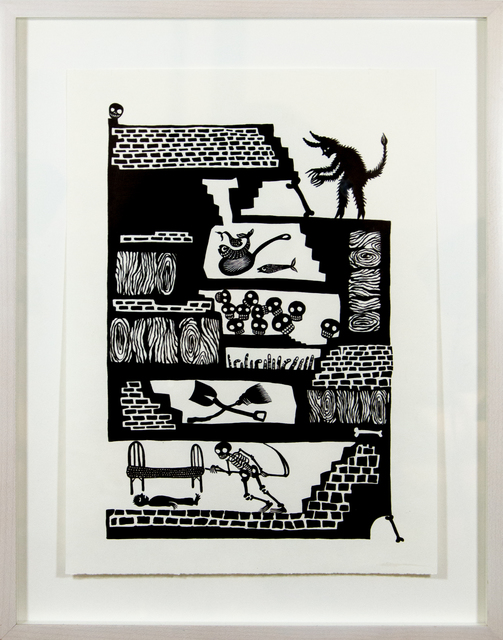 Andrea Dezsö, 'Grimm Drawings: The Godfather', 2013, C24 Gallery