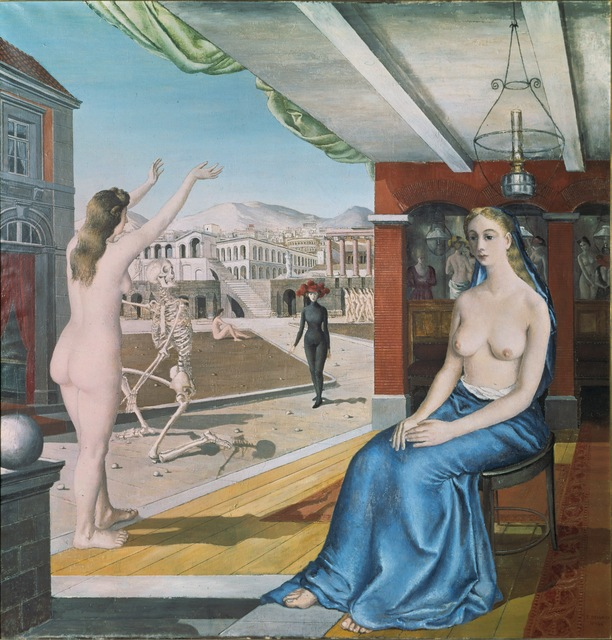 Paul Delvaux, 'The Call,' 1943, ARS/Art Resource