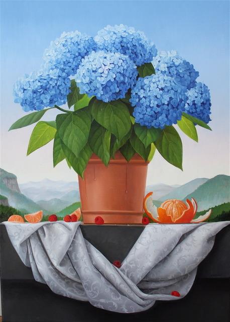 , 'Hydrangea,' 2014, Clark Gallery