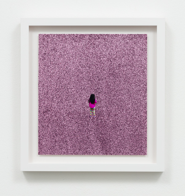 , 'Untitled (Pink sweater, pink glitter),' 2016, Charlie James Gallery