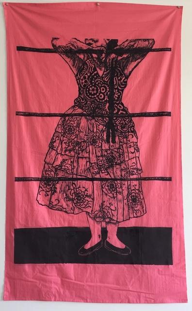 , 'Cholita Luchadora on salmon   ,' 2017, Zeitgeist