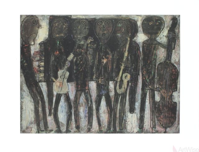 , 'Jazz Band,' , ArtWise