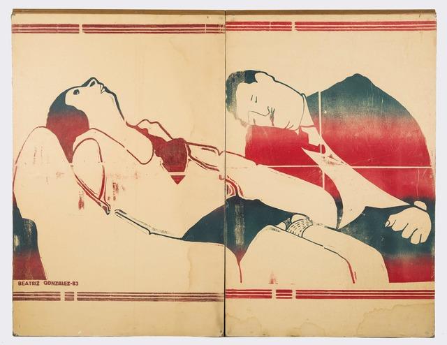, 'Zócalo de la tragedia,' 1983, Casas Riegner