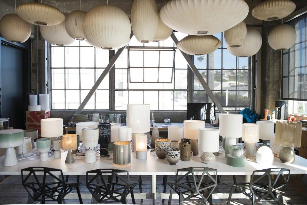 Design Series 3 Lighting from the Heath Clay Studio | Boiler Room at Heath Ceramics | Artsy & Design Series 3: Lighting from the Heath Clay Studio | Boiler Room ...