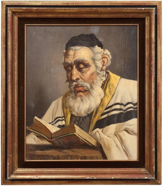 Unknown, 'Hungarian Rabbi', 20th Century, Lions Gallery