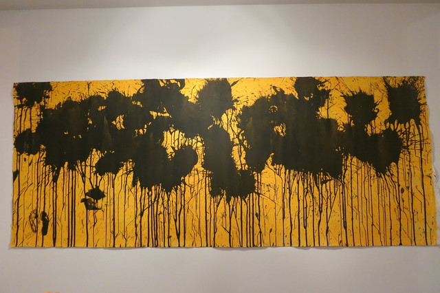 , 'Black on Sunflower Yellow,' 2016, Deborah Colton Gallery
