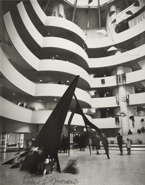 """, 'Calder Retrospective at the Guggenheim with """"Guillotine pour huit"""",' 1964, Edward Cella Art and Architecture"""