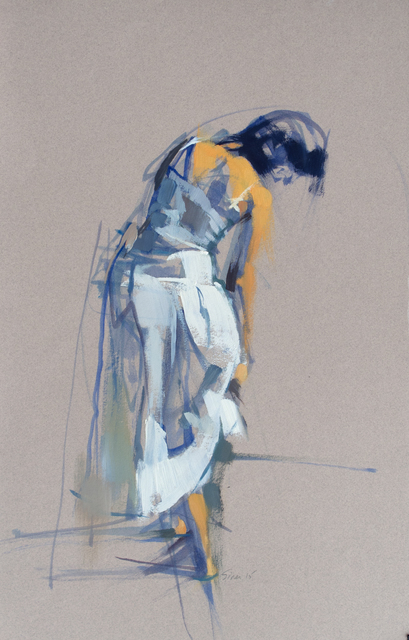 , 'Woman in White - Reach Hem,' 2016, J. Cacciola Gallery