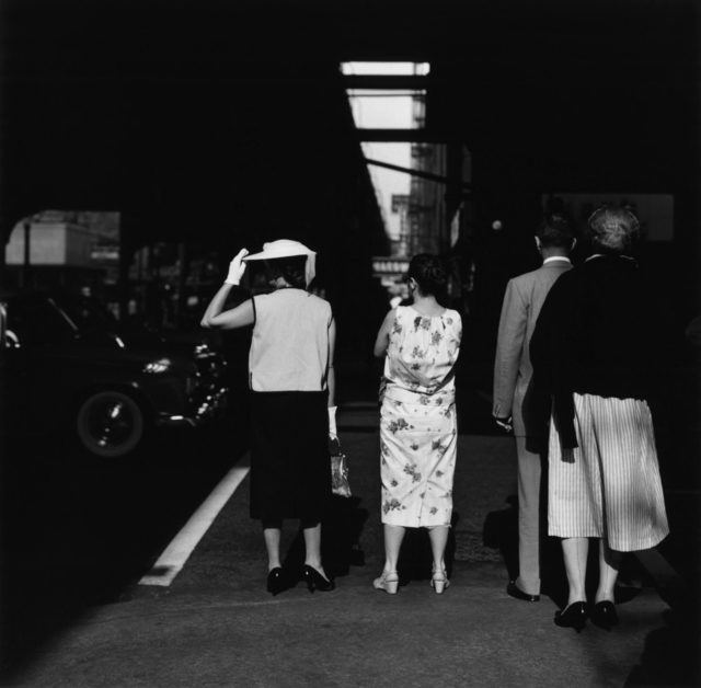 , 'Chicago: Two Women on Sidewalk (58-CF-3),' 1965, Etherton Gallery