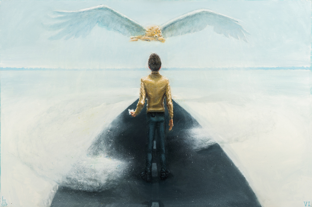 Mihai Florea, 'The White Winged Lion', 2019, Anaid Art