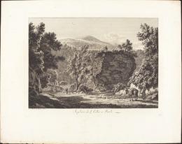 Albert Christoph Dies, 'Sepolcro di L. Cellio a Tivoli', 1795, National Gallery of Art, Washington, D.C.