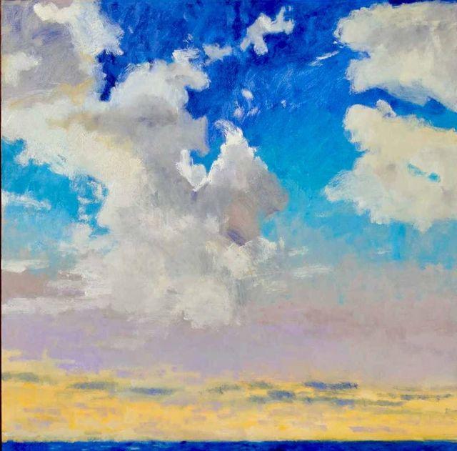 , 'Windblown Clouds,' ca. 2018, Thomas Deans Fine Art