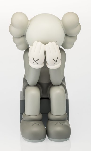 KAWS, 'Companion (Passing Through) (Grey)', 2013, Heritage Auctions