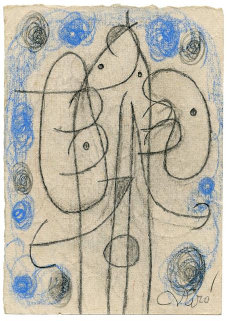 Joan Miró, 'Personnage', 1977, Galería Daniel Cardani