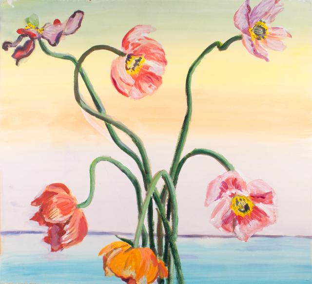 , 'Pastel Poppies,' 2007, Gaa Gallery