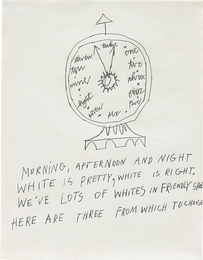 Andy Warhol, 'Clock,' 1953, Phillips: New Now (December 2016)