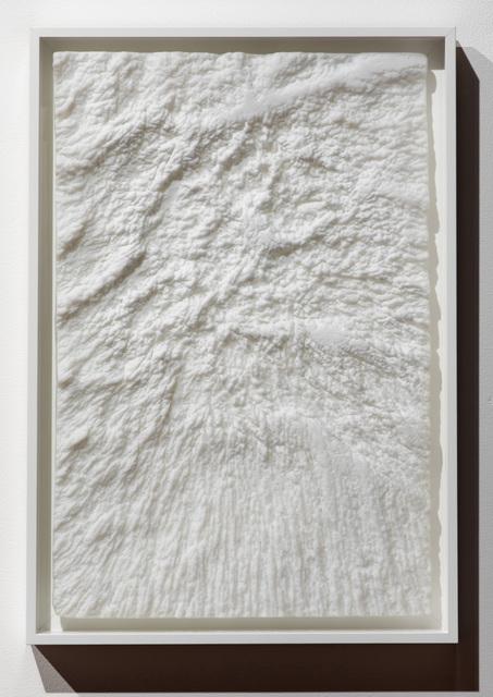 , 'Muffles (02, white),' 2017, Bullseye Projects