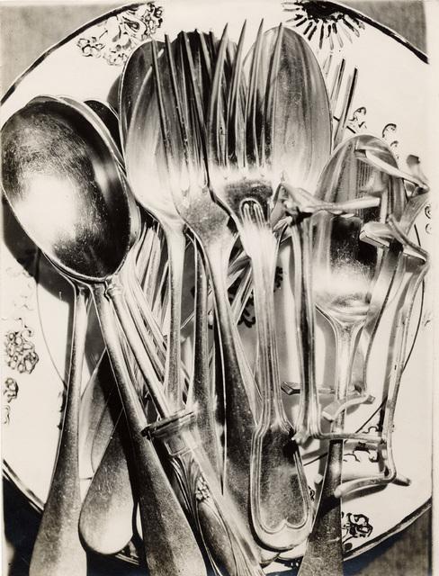 Claude Tolmer, 'Silverware', ca. 1930, Galerie Julian Sander
