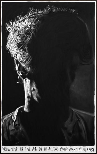 , 'Drowning in the sea of logic, ...,' 2018, Tim Van Laere Gallery