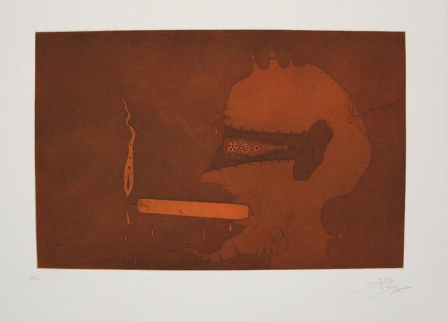 Joan Ponç, 'Home espelma', 1975, Sylvan Cole Gallery