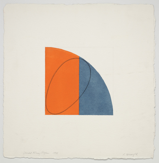 , 'Curved Plane/Figure,' 1995, Pace Gallery
