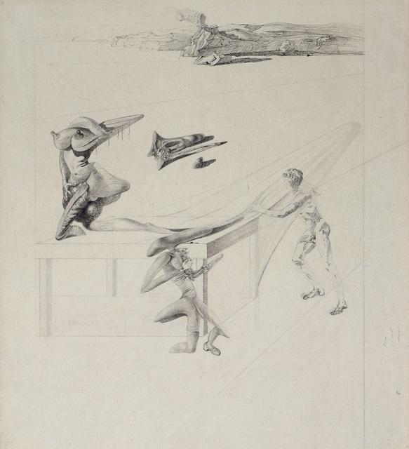 Salvador Dalí, 'L'Enfant sauterelle', 1933, Galerie Natalie Seroussi