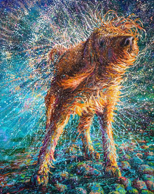 , 'Beaded Threads - Gold Edition Artist Proof,' 2017, Adelman Fine Art
